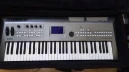 Oportunidade: Teclado MM6 syntetizador Yamaha+ case bag luxo