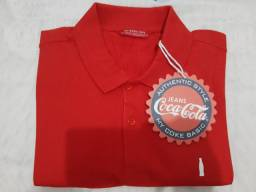 Camisa Polo COCA COLA
