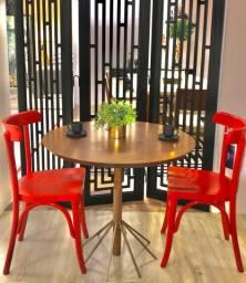 Cadeira coffe chair em madeira