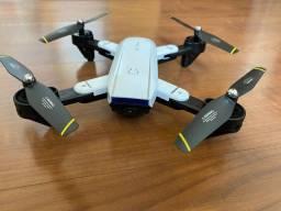 Drone SG com duas câmeras 1080p - Voa 100m, bateria 20min e retorno automático