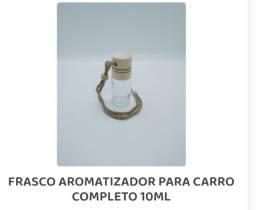 Título do anúncio: Frasco para aromatizador de carro  10ml pacote c/10 frascos