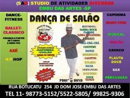 Samba Rock e Samba de Gafieira jd dom jose embu das artes sp