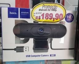 Webcam 1080p (nova) Lojão da Kennedy