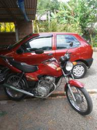 Troco Palio EDX 97 e Moto CG Titan 125 - 2000. Por Gol G3 ou Palio Fire Completo