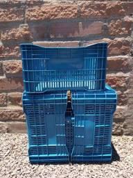 Caixas de plástico