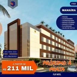 Título do anúncio: Apartamento para Venda em João Pessoa, Manaíra, 1 dormitório, 1 suíte, 1 banheiro, 1 vaga