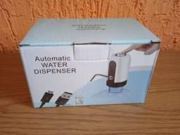 Bomba de água recarregável