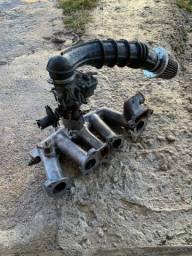 Coletor + carburador + filtro de ar esportivo chevette original