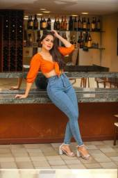 Calça Jeans Empina Bumbum c/ Stresh