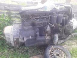 Motor de Mercedes completo