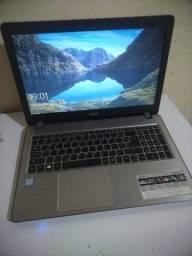 Acer aspire, F5-573-59TV intel Core i5 (TM) 6200U, 8GB ddr4, placa de vídeo integrada