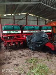 Plantadeira Planticenter ano 2012<br>Big Farm 12x50 cm