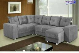 Grande promoção de sofá canto
