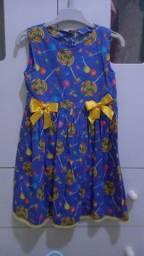Vestido pirulito 3 anos