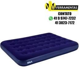 Colchão Inflável Casal Kala - Azul