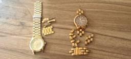 Relógios femininos quebrados