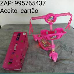 Patinete infantil rosa