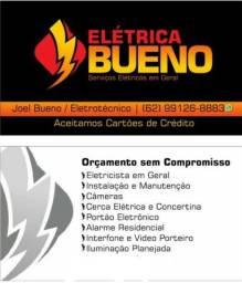 Eletrotécnico, segurança eletrônica e eletricista