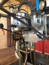 Ordenha canalizada motor 2cv + transferidor