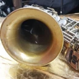 Trombone De Pisto Weril Antigo Revisado Na Musical Brother