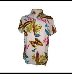 Camisa Floral Viscose Tamanho M