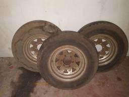 3 rodas Mangels aro 15