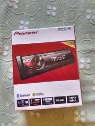 Pioneer (bluetooth) + alto falante 5P hurricane