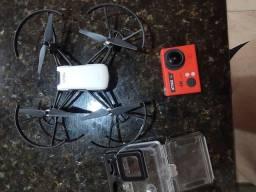 Vendo ou troco drone Tello e cam action