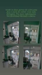 Porta de vidro verde 8 ml completa