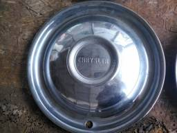 Jogo de calotas originais em Inox Chrysler - Belvedere - Fury - Imperial - New Yorker