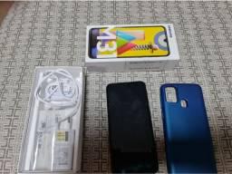 Smartphone Samsung Galaxy M31, cor azul em Teresina-Pi