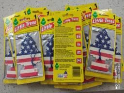 Aromatizador Little Trees Original - Embalagem Amarela.