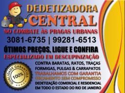 Dedetizadora Central