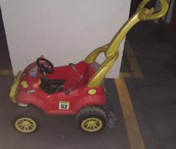 Mini Carro infantil Vermelho pedal Smart Passeio & Pedal Bandeirante Usado