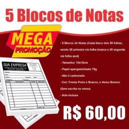 Blocos de Notas (Mega Promoção)