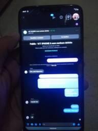 TROCO MOTO G7 POWER TRINCADO POR UM IPHONE MAIS VOLTA DE 100 REAIS