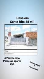 Casa em Santa Rita 48 mil