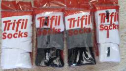 Kit/par 3 meias trifil stocks  esportiva tamanho 39-43