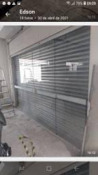 Porta de vidro temperado em perfeito estado