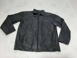 Jaqueta/casaco masculino Parks Dormeuil England<br>100%<br>Couro Cor preta <br>
