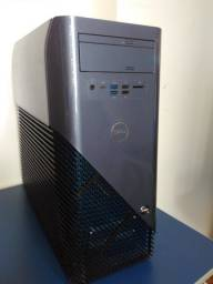 PC Gamer Dell Inspirion 5675 (Ryzen 7 1700X, 8GB de ram, Radeon RX 570, SSD 60GB e HD 1TB)