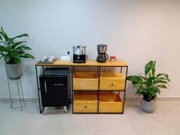 Fabricação de Móveis Estilo Industrial - Mesa/Aparador/Escrivaninha