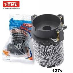 Resistência 127v Ducha Fame Quatto Temperaturas 5400w