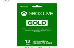 Xbox live Gold 12 meses Brasil Xbox 360 e  one