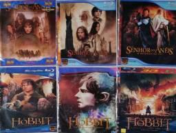 Bluray O senhor dos anéis e Hobbit