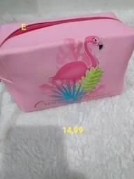necessarie feminina flamingos * leia o anuncio todo