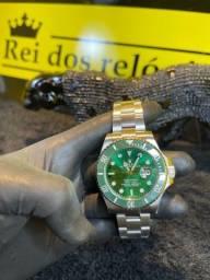 Rolex HULK prata / verde novo lacrado