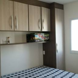 Apartamento smi-mobiliado