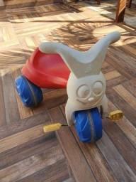 Motoca bandeirante triciclo
