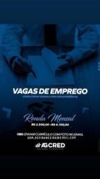 Título do anúncio: OPORTUNIDADE DE EMPREGO!
